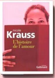 L'histoire de l'amour de Nicole Krauss